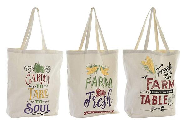 Platnena torba shopping 43x15x40 3 modela