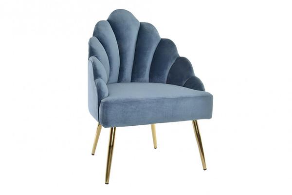 Plava fotelja  63x54x90
