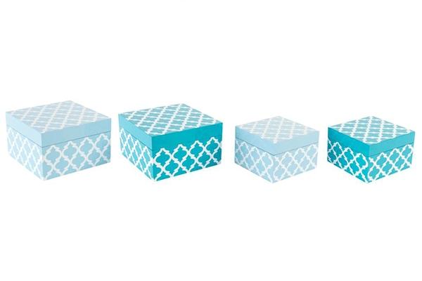 Plave kutije za nakit set/2 2 modela