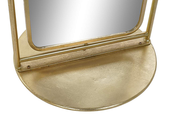 Podno ogledalo golden 58x58x187