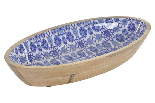 Posuda mango blue 31x15,5x6