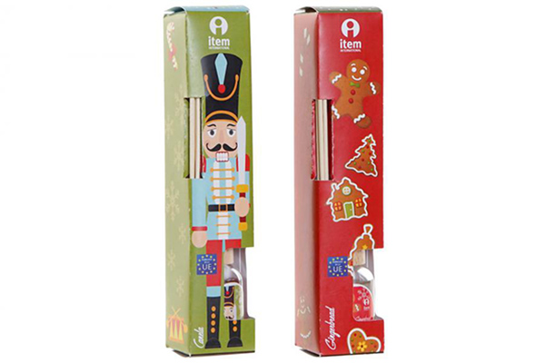 Praznični mirišljavi štapći 4x4x20 30 ml. 2 modela