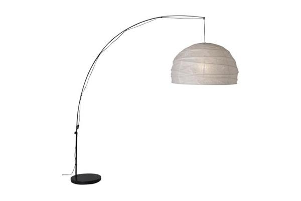 Regolit pecaljka lampa bela