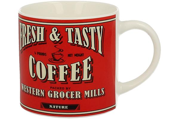 Retro šolja coffee crvena