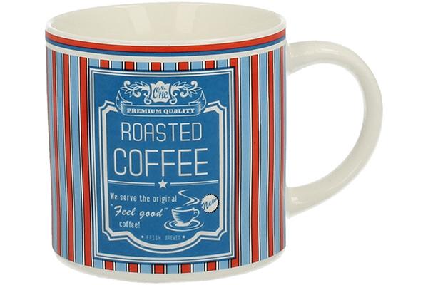 Retro šolja coffee plava