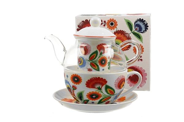 Set čajnik sa šoljom 255 ml/330 ml