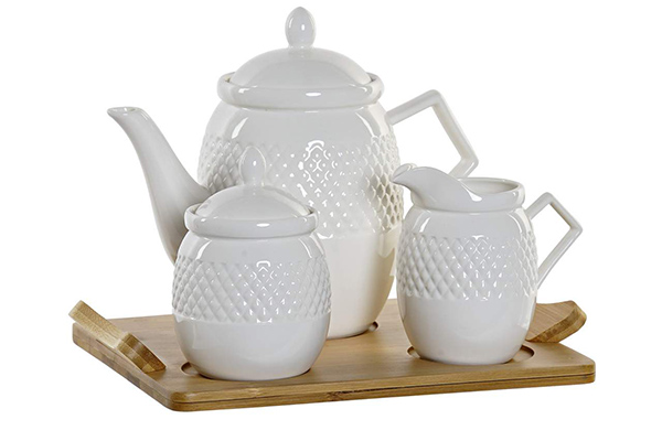 Set za čaj / 4 26,5x19,5x18 90ml.