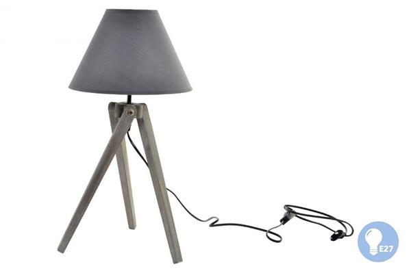 Siva lampa 25x25x50