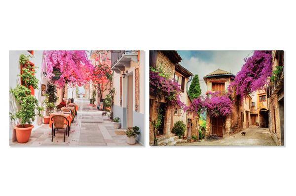 Slika pink flowers 50x2x70 2 modela