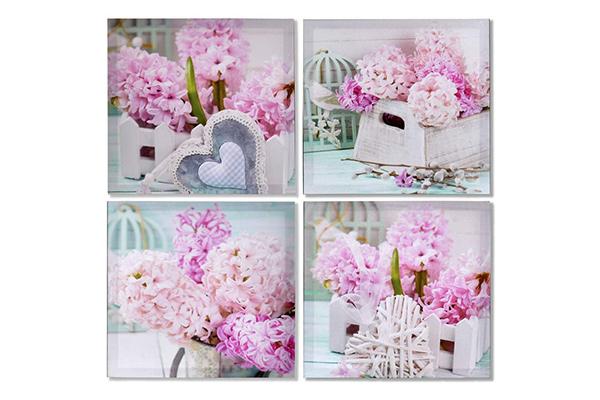 Slika roze cveće 40x2x40 4 modela