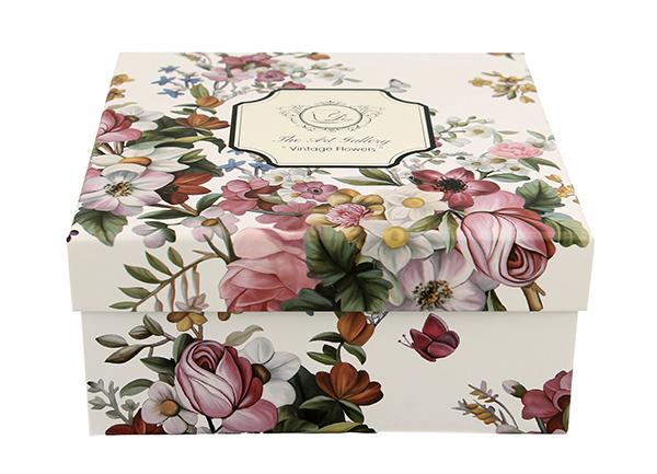 šolja flowers - white 280 ml