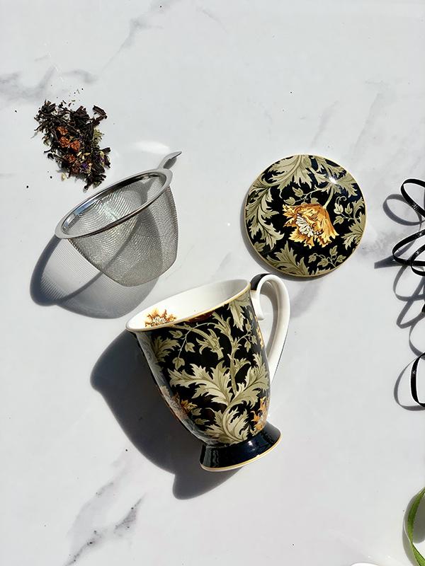 šolja za čaj chrysanthemum w.morris 325 ml