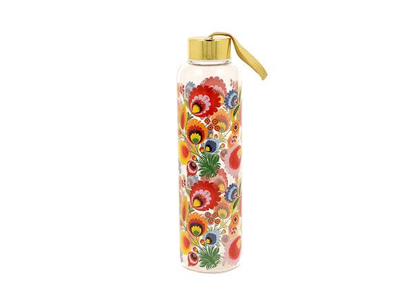 Staklena flašica floral 580 ml