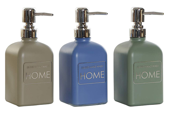 Stakleni dispenzer za sapun home 450 ml 3 modela