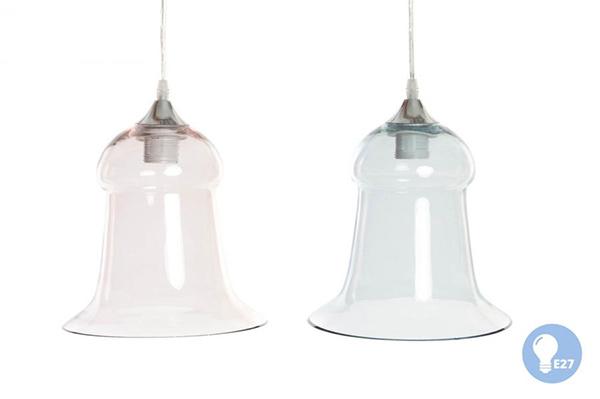 Stakleni luster bell 23x25 2 modela