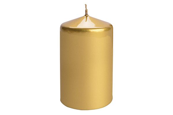 Sveca valjak 6*10 zlatna