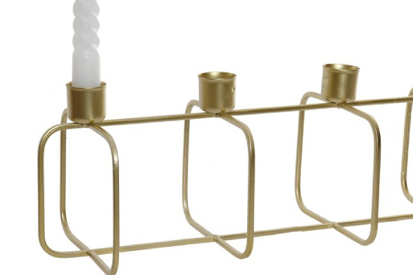Svećnjak gold 38x13x13,5