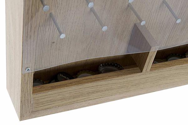 Tabla sa otvaračem i delom za čepove 30x5x40