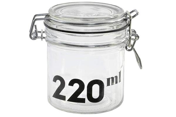 Tegla 220 ml 8,5x8,5x9,3