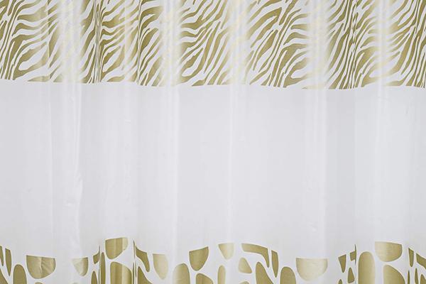 Tuš zavesa animal print 180x200