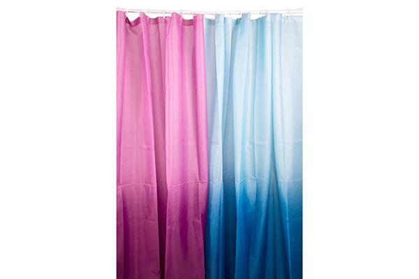 Tuš zavese plava i roze