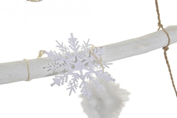 Viseća dekoracija white tree 70x5x110