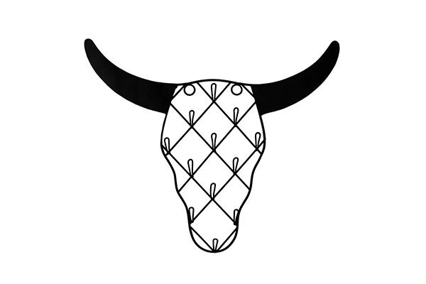 Viseći držač nakita buffalo 30x0,5x20
