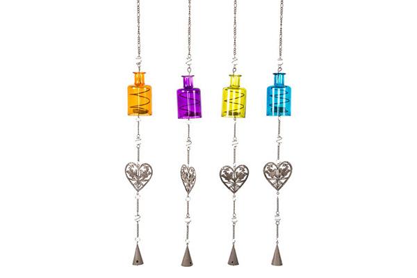 Viseći svećnjak u bojama srca 87cm