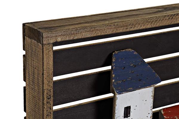 Zidna dekoracija kućice 44,3x7,5x34,5