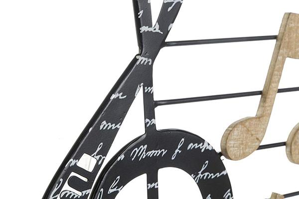 Zidna dekoracija music 42x1x45