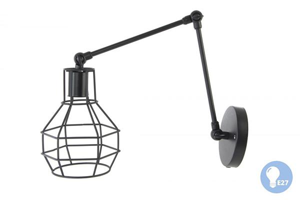 Zidna metalna lampa 13x20