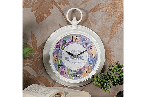 Zidni sat romantic 30 cm 4 modela