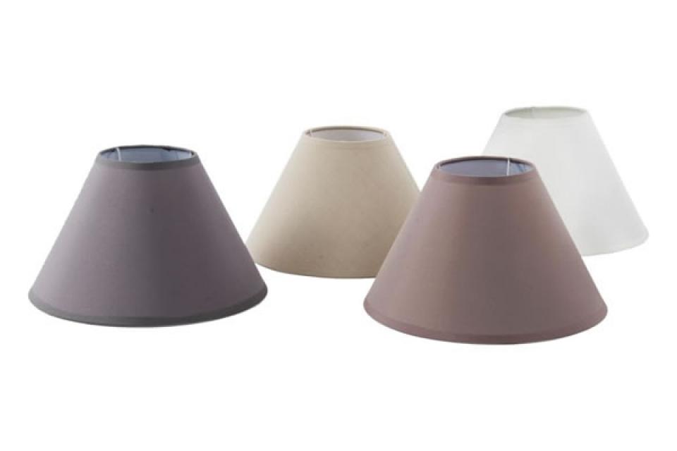 Abažuri za lampe u nijansama  braon