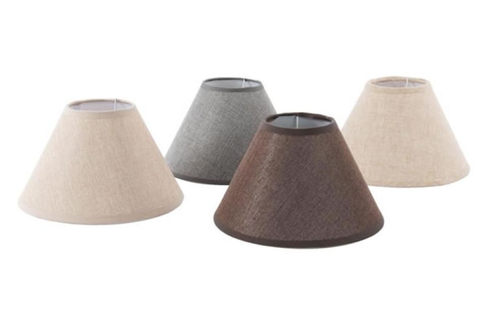 Abažuri za lampe u braon - bež  nijansama