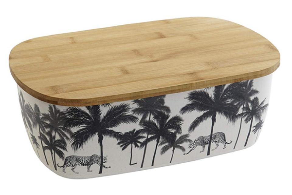 Bambus kutija za hleb palma 36x20x13