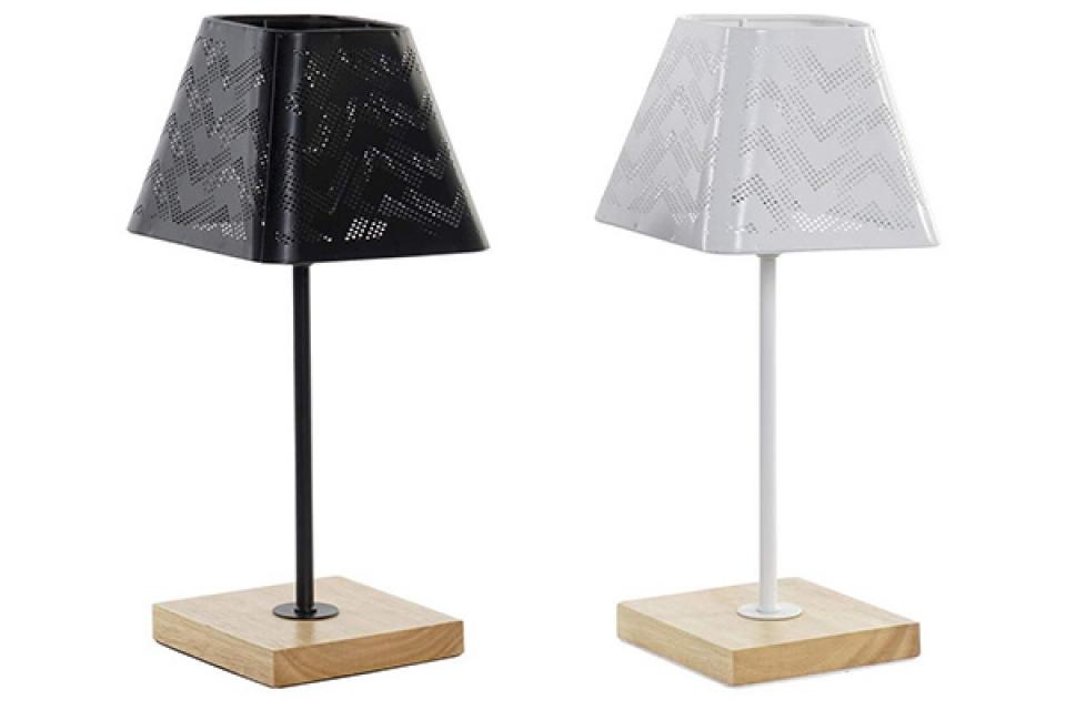 Bambus lampa black & white 15x15x35,5 e14 2 modela