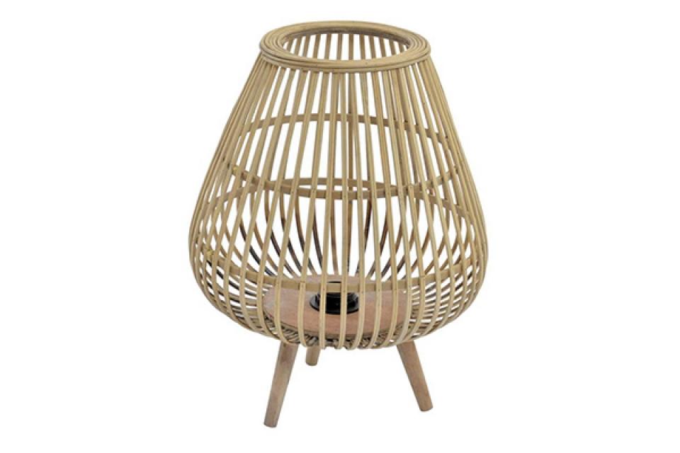 Bambus lampa sa nogicama 32x32x41