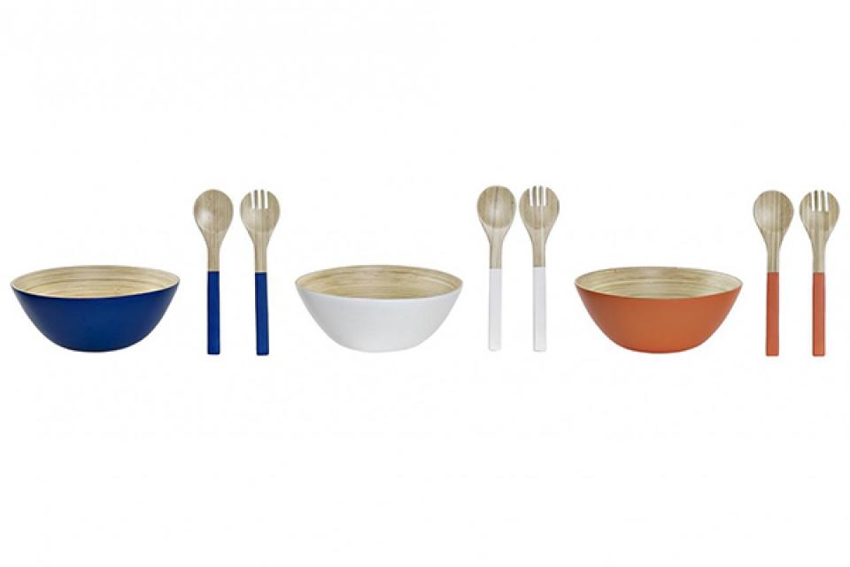Bambus set za salatu / 3 30x30x12 3 modela