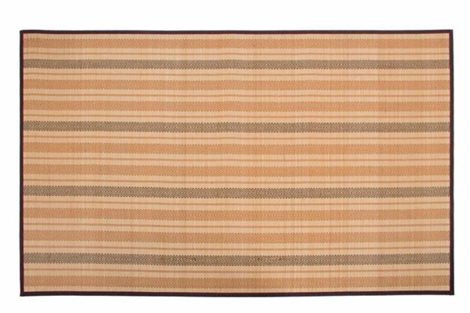 Bambus tepih bež geometric 160x230