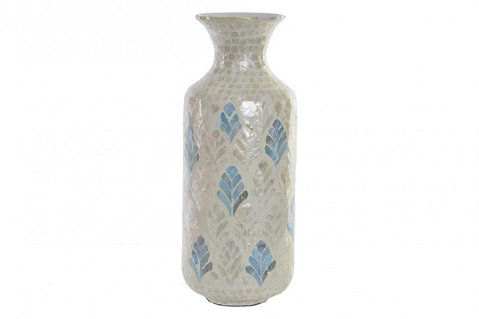 Bambus vaza mozaik 23x23x55
