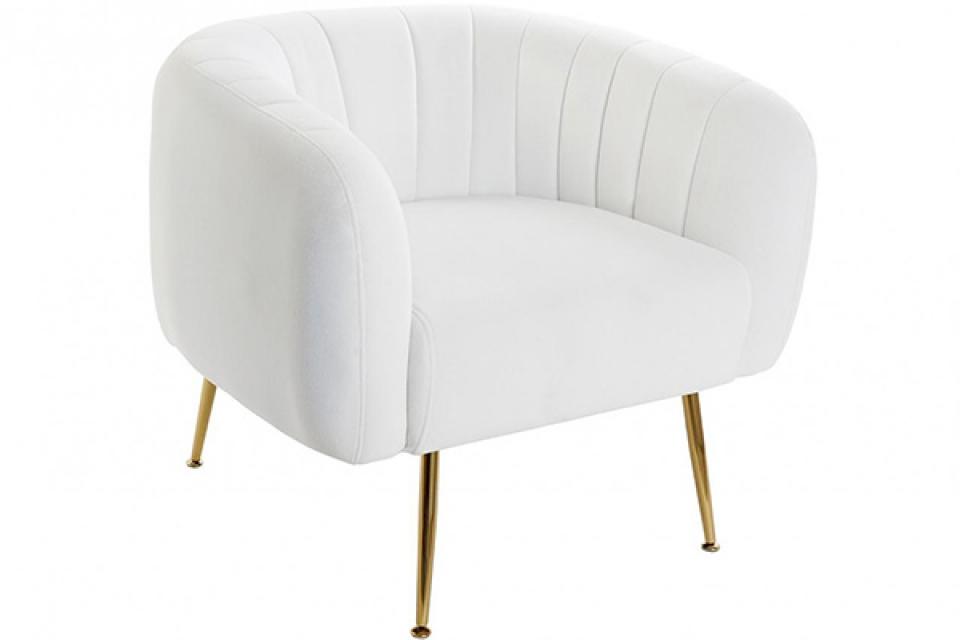 Bela fotelja 81x75x73
