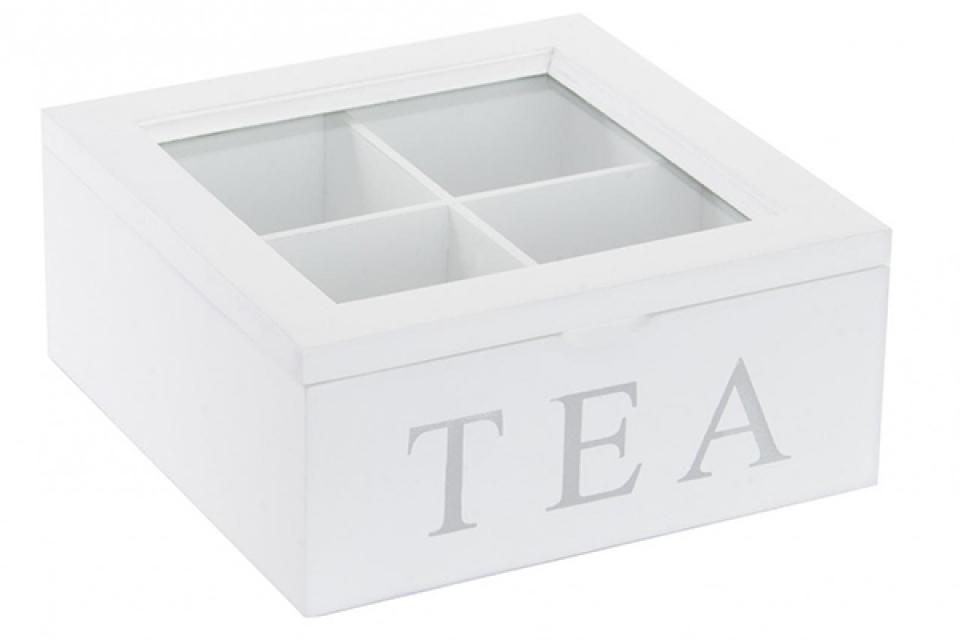 Bela kutija za čaj ii  18x18x8
