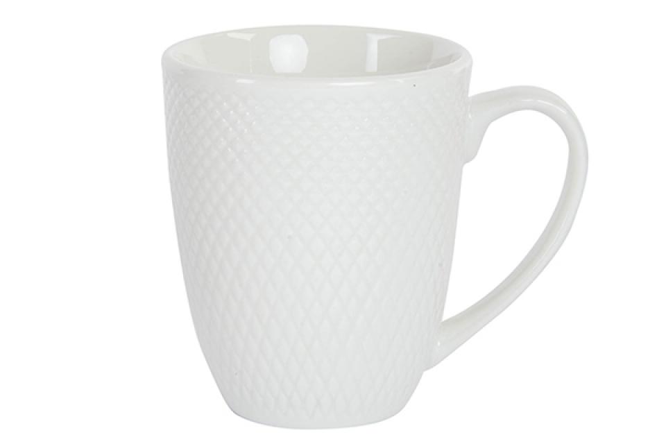 Bela šolja / porcelan  360 ml