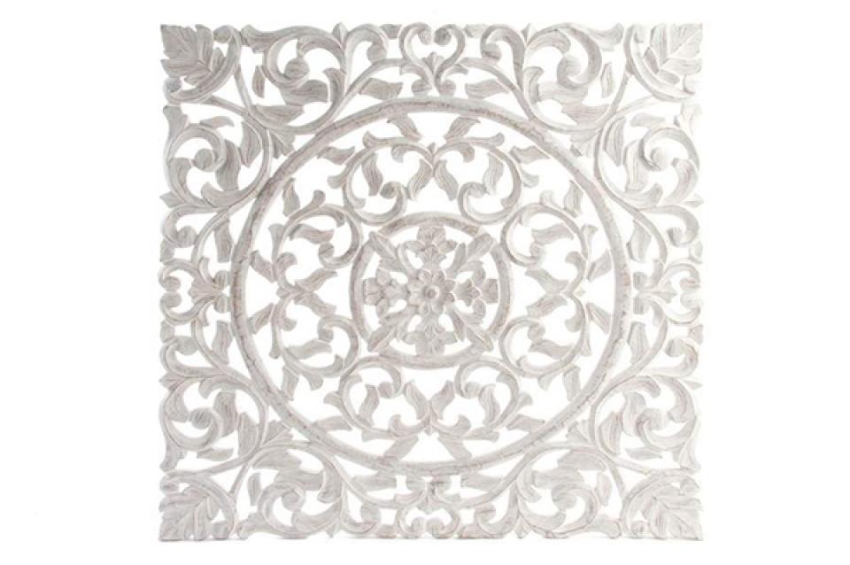 Bela zidna dekoracija 89x89x1,7