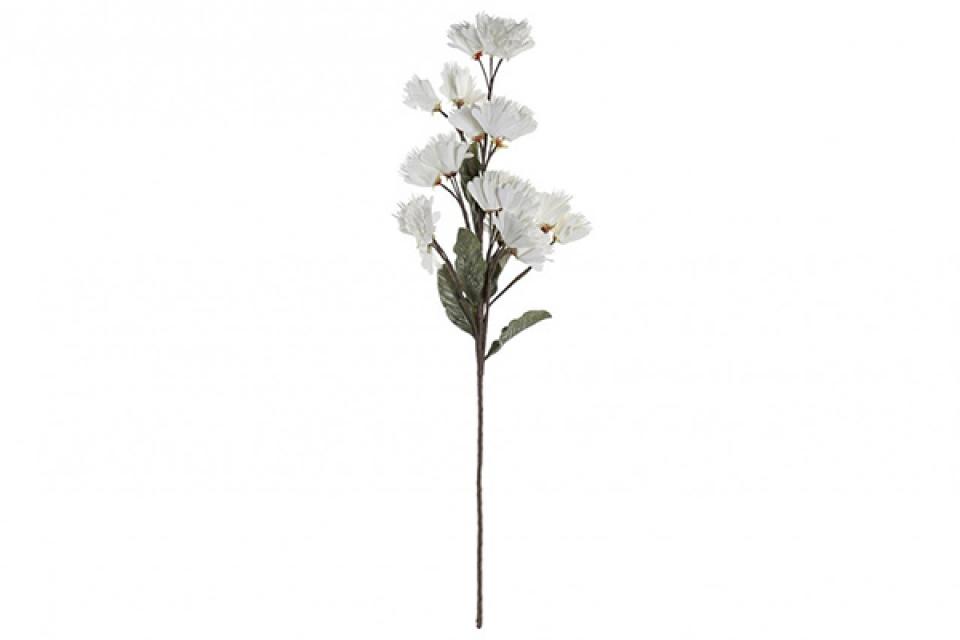 Beli dekorativni cvet eva 22x22x100