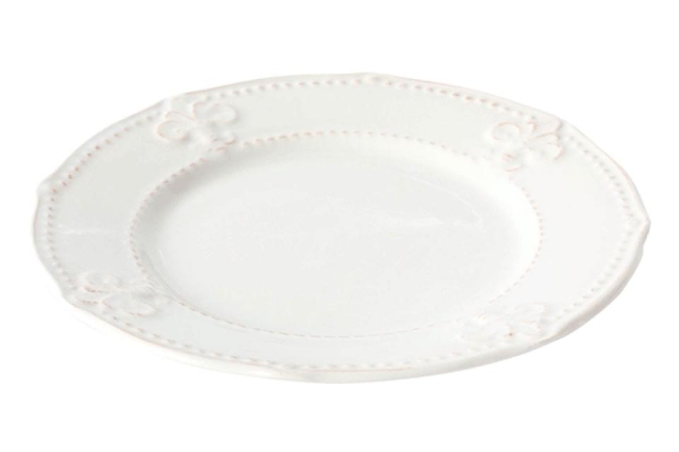 Beli elegantni tanjir 21x2 2 boje