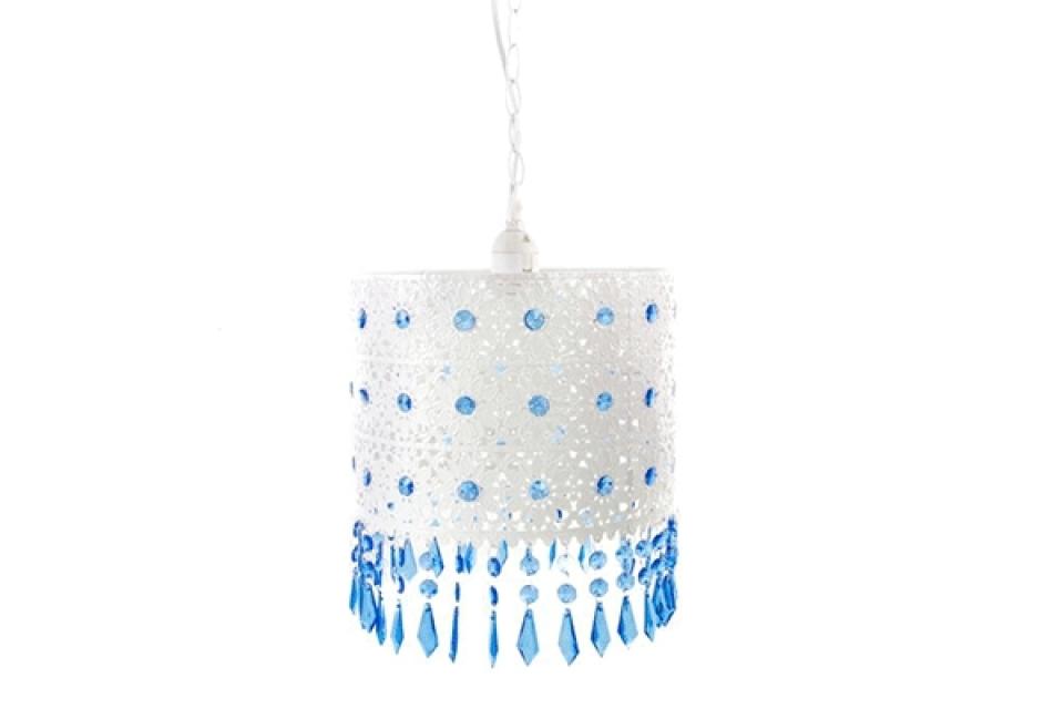 Belo plavi luster metal acrylic 25x25