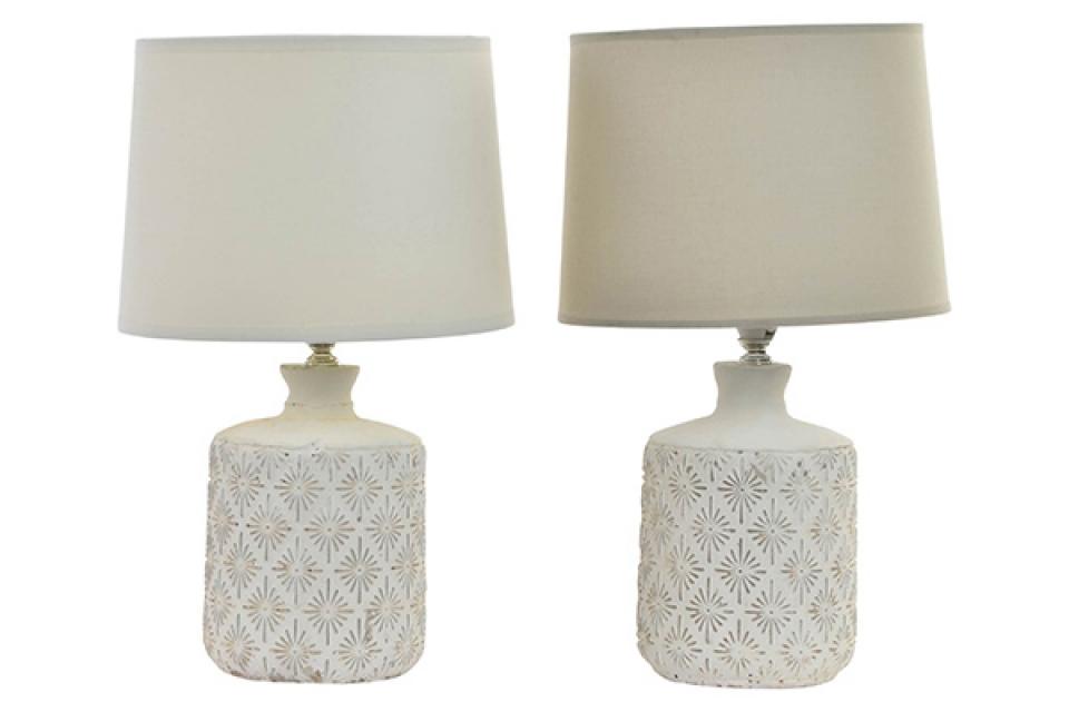 Bež keramička lampa  22x37 2 modela, lampe za sobu