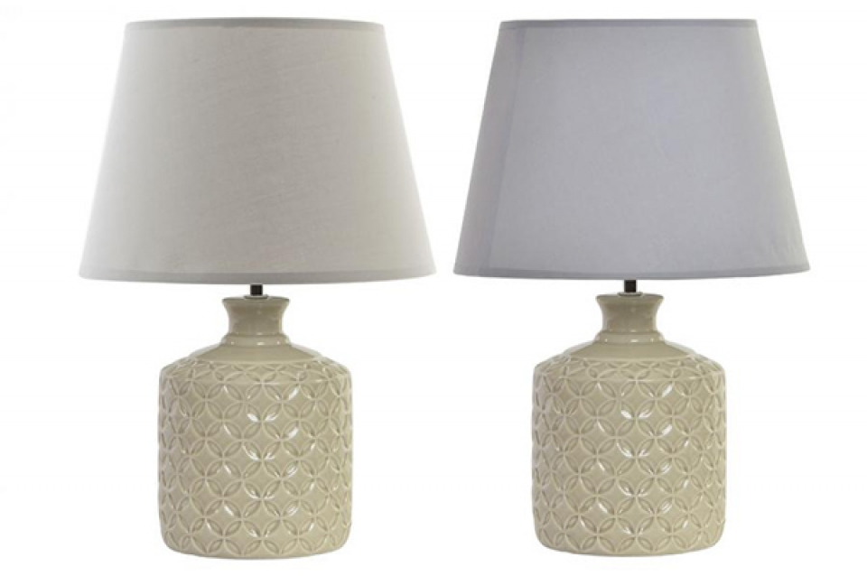 Bež lampa sparkly 28x28x42,5 2 modela