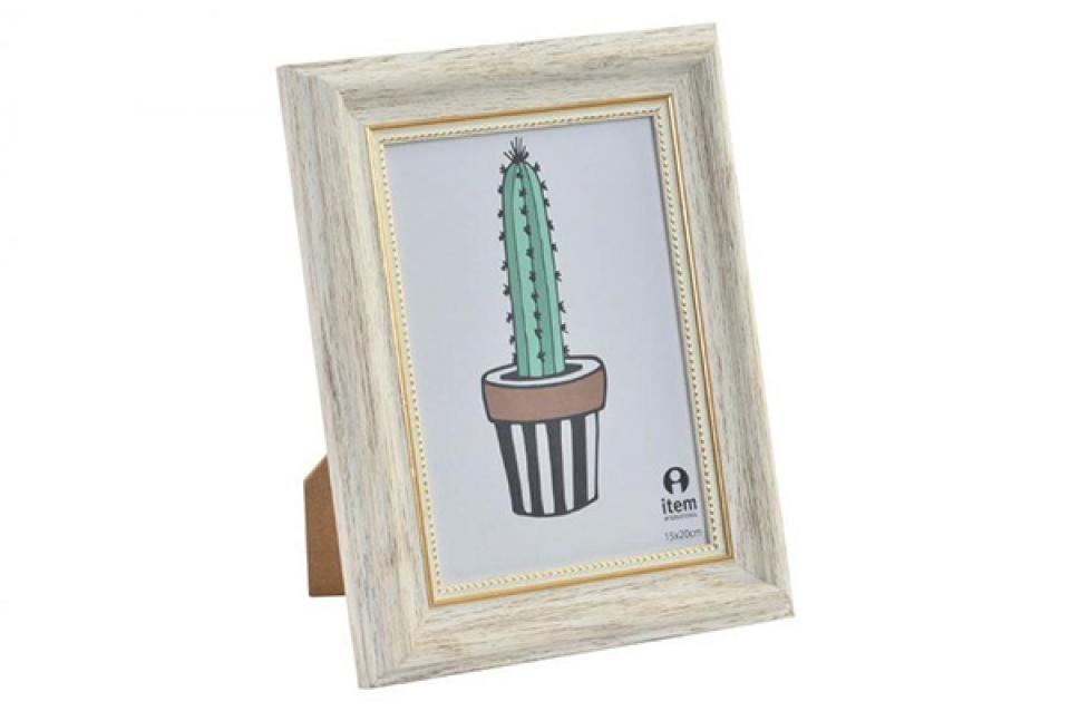 Bež ram kaktus 13x18